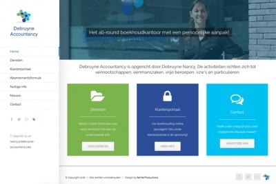 nieuwe website Debruyne Accountancy online